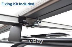 Le Support De Conduit De Tube De Tuyau En Aluminium Van De 3 M S'adapte À Toutes Les Barres De Toit