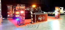 Led Amber Light Bar Strobe Recovery Gyrophare 120cm 1200mm 48 1.2m