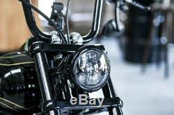 Led Scheinwerfer Mit Standlicht Harley 5,75 Night Train Sportster Softail Dyna