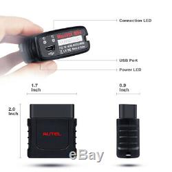 Maxicom Mk808bt Obd2 Autel Automatique Outil De Diagnostic Scanner De Code Abs Lecteur Epb Dpf