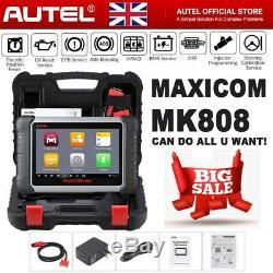 Maxisys Mk808 Mx808 Autel Obd2 Diagnostic Scanner Tous Les Systèmes Clefs En Programmation