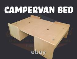Mdf Campervan Banquette Lit Avec Kit De Jambe De Table Pour Vivaro, Traffic & Primastar