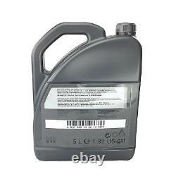Mercedes-benz Motoröl 20 Liter 5w30 229.51 Inkl. Trichter + Anhänger