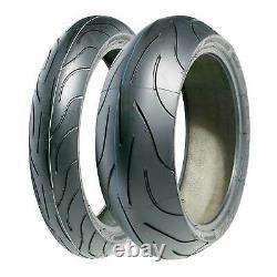 Michelin Pilot Power 120/70 Zr17 (58w) & 180/55 Zr17 (69w) Paire De Pneumatiques De Moto
