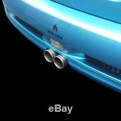 Mini R52 / R53 Cooper S Catback Echappement 2.5 Performance Système Inoxydable En Acier Inoxydable