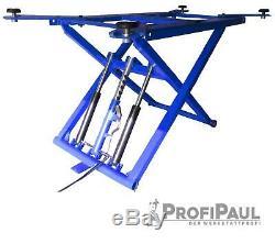 Mobile Scherenhebebühne (dslp 6062) À 2,8 T Farbe Bleu, 220v, 5l Öl