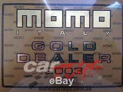 Momo Volant Montecarlo Noir 350mm S'il Vous Plaît Lire La Description Avant Acheter