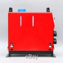Moniteur Diesel D'affichage À Cristaux Liquides De Chauffage 5000w 4 D'air 12v Planaire Pour La Voiture D'autobus De Bateaux De Camions
