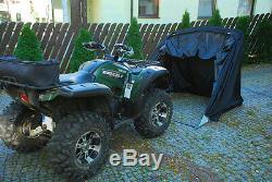 Motorradgarage Faltgarage Quad Motorrad Garage Schutzplane Faltzelt Grau XXL