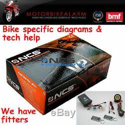 Ncs V2 Moto Vélo Moto Alarme Et Antidémarrage Contrôle De Démarrage À Distance