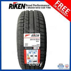 Nouveau 205 55 16 Riken Road Perf 205/55r16 2055516 Made De Michelin (1,2,4 Tyres)