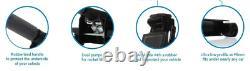 Nouveau Quick Lift Heavy Duty Dual Pump 3 Ton Ultra Low Profile Floor Trolley Jack