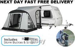 Nouveau + Tapis 2020 Dorema Rapide Et N Easy 265 Air Gonflable Caravane Porche Auvent
