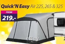 Nouvel Auvent Gonflable De Porche Pour Caravane Gonflable 2019 Dorema Starcamp Quick And Easy 225