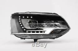 Nouvelle Paire De Phares Mise À Niveau Vw Transporter T5.1, Parfait Style Xenon Led Drl