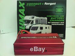 Numax 12v 10a Chargeur De Batterie Loisirs Caravane Motorhome Marine Bateau Campervan
