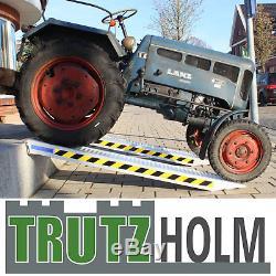 Paar Profi Alu Auffahrrampe Ca. 212 CM Verladerampe Auto Pkw Bis 3800kg / Paar