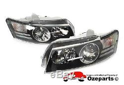 Paire Lh + Rh Head Light Projecteur Pour Holden Commodore Vz Ss Calais Equipier 0407