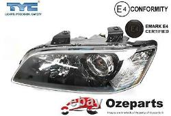 Paire Lh + Rh Projecteur Head Light Pour Holden Commodore Ve S1 Calais & Ssv 0610