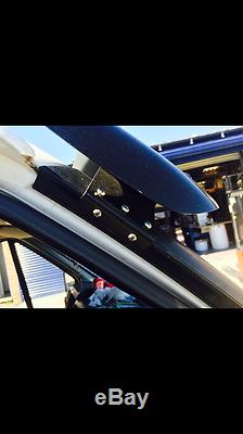 Pare-soleil Et Bug Guard Solid Black Acrylique 2006-2013 Pour Ford Transit Mk7
