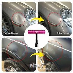 Pdr Peintless Hail Repair Dent Puller Lifter Removal Rods Kit Slide Hammer Outils