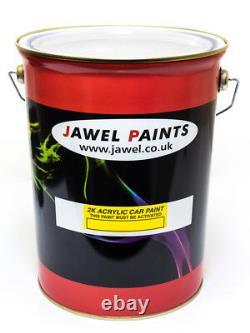 Peinture De Voiture 2k Acrylique Ford Radiant Rouge Peinture Seulement 5litres