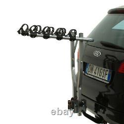 Peruzzo Arezzo Tilting Towbar Carrier 4 Bike Cycle Rack Pliant Car Tow Bar