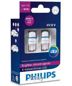 Philips 127998000kx2 X-tremeultinon T10 W5w 8000k Blau Innenbeleuchtung