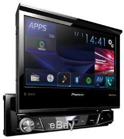 Pioneer Avh-x7800bt CD / DVD / Mp3-autoradio À Écran Tactile Bluetooth Usb Ipod Aux