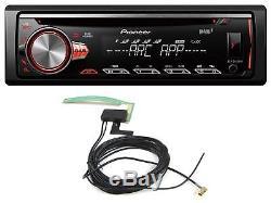 Pioneer Deh-4900dab S400dab CD / Mp3-autoradio Dab Usb Ipod Aux-in Inkl. Antenne Dab