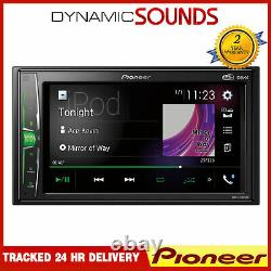 Pioneer Dmh-a3300dab Double Din Din Stereo Bluetooth Spotify Usb Dab + Wellink
