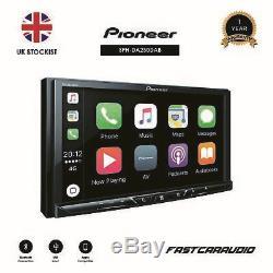Pioneer Sph-da230dab 7 D'apple Carplay Bluetooth Android Auto + Dab Usb Double Din