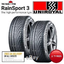 Pneus Uniroyal Rainsport3 2 X 225/40 R18 92y XL Fr. Expédition Le Jour Même Avant 13h