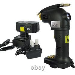 Pompe Rechargeable Rechargeable De Compresseur D'air De Vélo De Voiture De Pneu Portable 12v