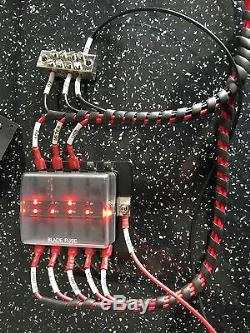 Précâblés Campervan / T4 / T5 / T6electrical Conversion Kit 12v Hookup / 240v Noir Inlet