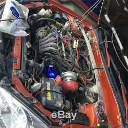 Prise De Filtre À Air Pour Turbocompresseur Turbo Turbo Supercharger Kit Pour Vélo De Voiture 12v
