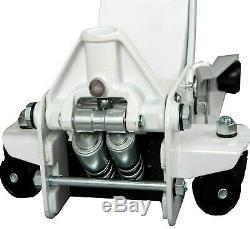 Professional Low Profile D'entrée Chariot Jack Avec Rocket Ascenseur Garage 2.5 Tonnes