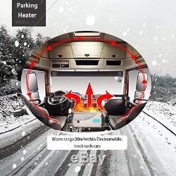 Réchauffeur De Carburant De Stationnement Diesel D'air De Véhicule Réchauffant Le Commutateur D'affichage À Cristaux Liquides 5v 5kw Pour Le Bateau De Camion