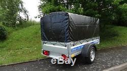 Remorque De Voiture 6x4 750kg À Un Essieu Tout Neuf