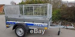 Remorque Neuve De Voiture 6x4 750kg Avec Suspension Al-ko À Essieu Simple