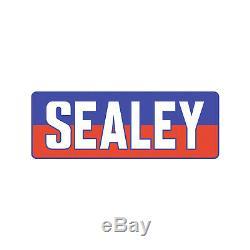 Sealey Chariot Jack 2 Tonnes Surbaissé Rocket Lift Salut Vis / Viz Vert 2001lehv