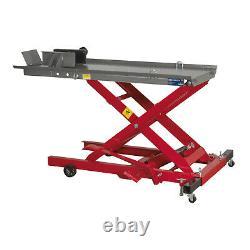 Sealey Mc365 Hydraulic Motorbike Lift Ramp Bench 365kg Capacité
