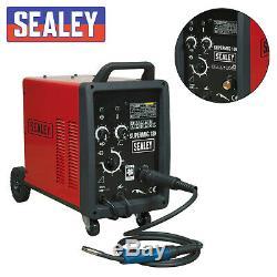 Sealey Professionnel Mig Welder 180amp 230v Avec Binzel Euro Torch Supermig180