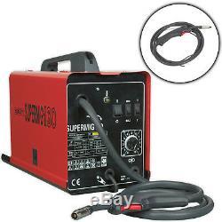 Sealey Supermig130 Minimig Mig Soudeuse 130amp 230v Régulateur De Machine Bobine & Astuces