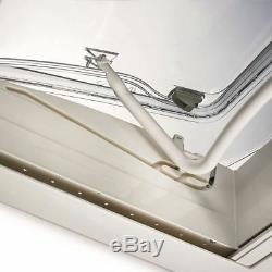Seitz Mini Heki Style Puits De Lumière 40x40cm Lanterneau Caravan Motorhome 43-60 Non Vent