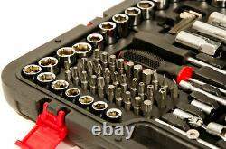 Set De Socket Professionnel 215 Pièces 1/2 3/8 1/2 Dr / Spenners / Torx + Plus