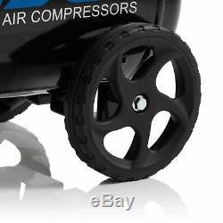 Sgs 24 Litres Direct Drive Compresseur D'air Avec Dévidoir 9.5cfm, 2.5hp, 24l