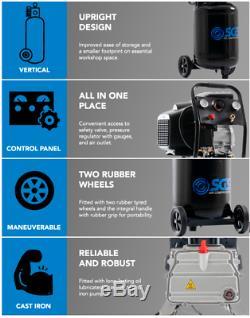 Sgs 50 Litres Direct Drive Compresseur D'air Vertical