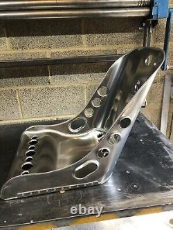 Siège Seau En Aluminium, Siège Bombardier Bas (x2) Hot Rod, Vw, Mini, Classique, Course