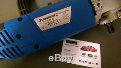 Silverline Mop Bricolage Car Polisseuse Kit + 10 Têtes Autoexpress Machine Primée